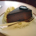 Sachertorte from the Hotel Sacher, Vienna. Copyright © 2005 David Monniaux