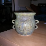 a webbofscience original: one vase in my handmade collection