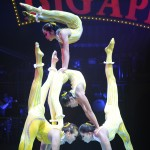X Bud Roses Acrobat Troupe at the Big Apple Circus