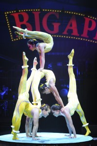 X Bud Roses Troupe, Credit: Bertrand Guay/Big Apple Circus