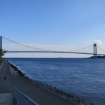 The Verrazano Narrows Bridge from Bay Ridge, Brooklyn
